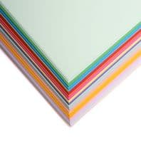 A3 Personalised Pack Coloured Paper 80GSM - 100 Sheets