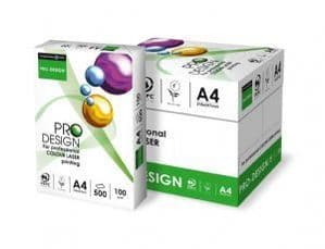 A4 Pro Design 90GSM Printer Paper High White - 500 Sheets