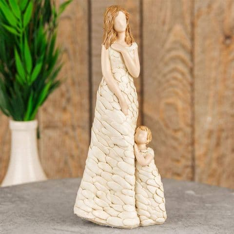 Mother with Child Standing Figure