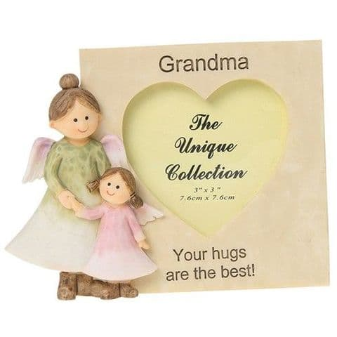 Angelic Angel Grandma Photoframe Ornament