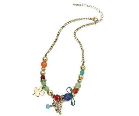 Beaded Multi-Coloured Necklace