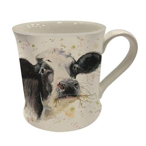 Bree Merryn Fine Art Fine China Mug Clover Cow