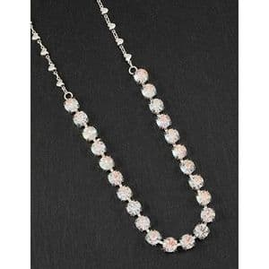 Clear Crystal Glamour Necklace - Glamorous & Glitzy