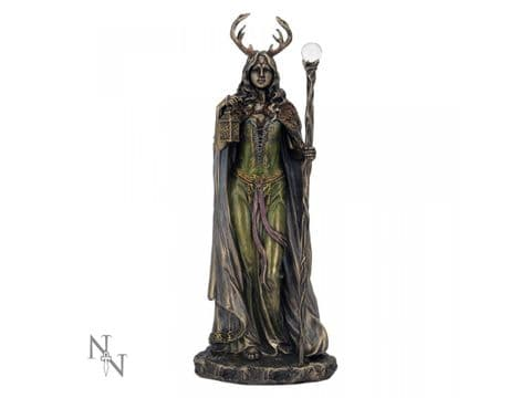 Keeper of the Forest Bronze - Elen of the Ways Figure