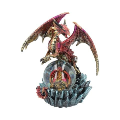 Nemesis Now Ruby Oracle 19cm Fortune Seer Red Dragon