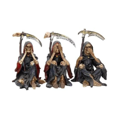 Nemesis Now Something Wicked set of three Wise Reapers 9.5cm