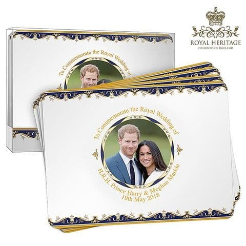 Royal Wedding Collection - Table Mats set of 4