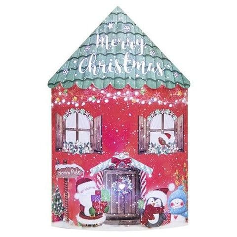 Starlight Christmas  Lantern - Colour Changing LED - Merry Xmas