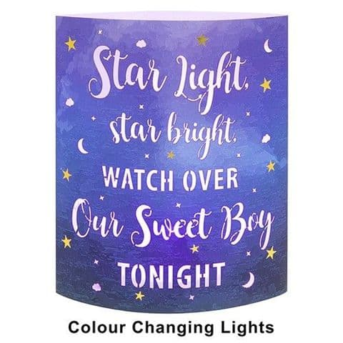 Starlight Lantern - Colour Changing LED Light - Star light, Star bright Blue