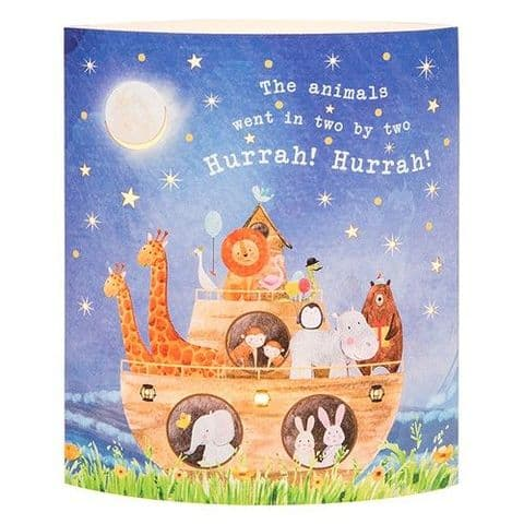 Starlight Lantern - Warm White LED Light - Noah's Ark..The Animals went in two....
