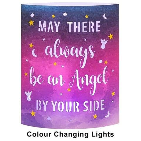 Starlight LED Colour Changing  Lantern - May there always be an Angel....