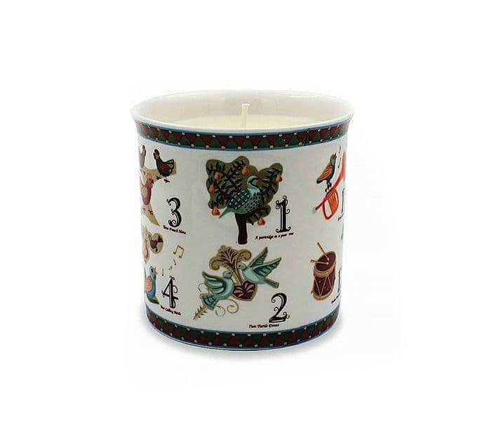12 Days of Christmas Vanilla Cinnamon Scented Candle