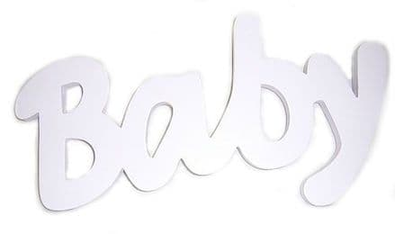Baby Pink Word Plaque