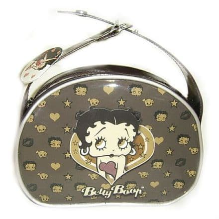 Betty Boop Beauty Case Chocolate