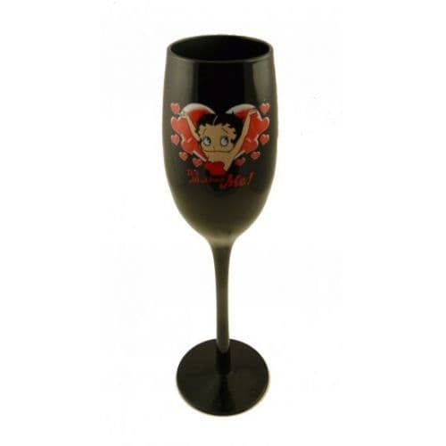 Black Flute Glass, It's All About Me, Betty Boop