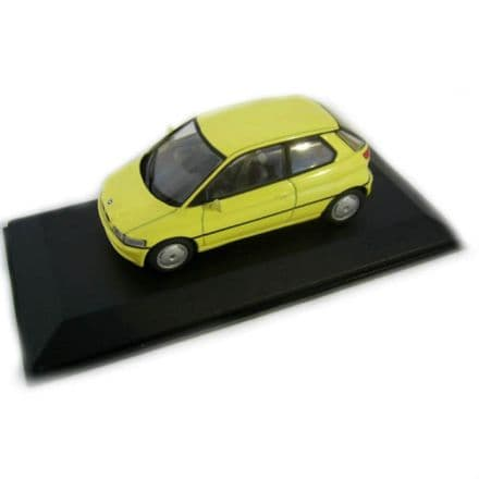 BMW E 1 Yellow 1/43 Diecast Metal, Minichamps