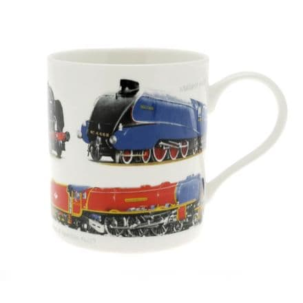 Classic Trains Fine China Mug