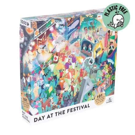 Day at the Festival 1000 Piece Jigsaw Puzzle By Big Potato Games