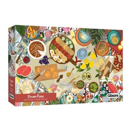 Dream Picnic by Bethany Lord 636 Piece Gibsons Jigsaw
