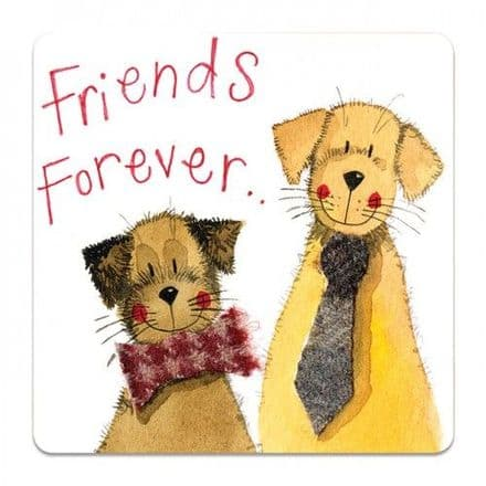 Friends Forever Corked Backed Coaster