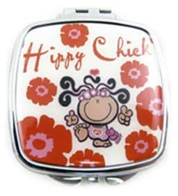 Hippy Chick Mirror Compact
