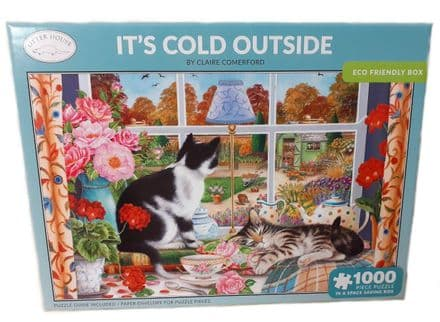 It's Cold Outside by Claire Comerford 1000 Piece Jigsaw