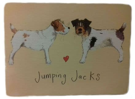 Jumping Jacks Corked Backed Placemat