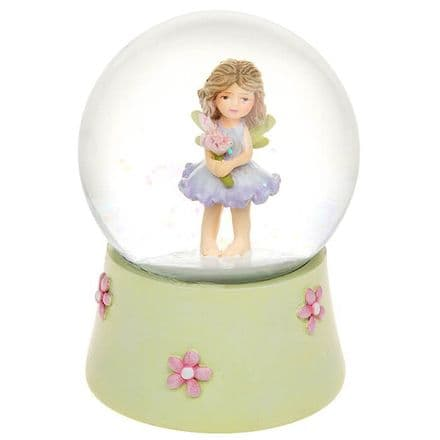 Lilac Flower Fairy Water globe