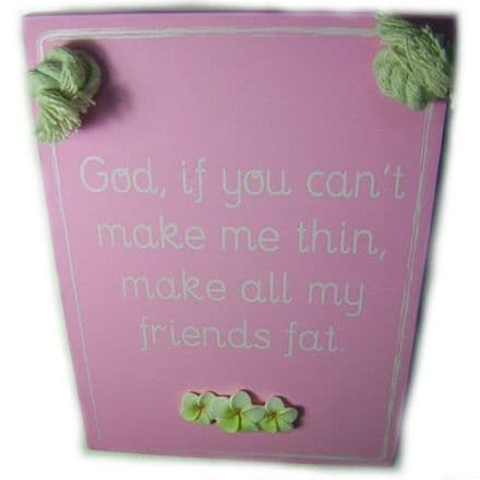 Make Thin Wall Plaque, Funny Phrases