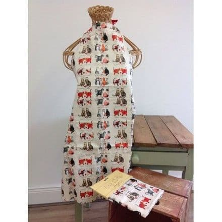 Marvellous Moggies Apron By Alex Clark