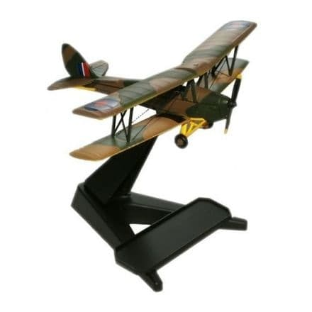 Oxford Diecast, 1:72 DH Tiger Moth - RAF