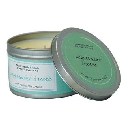 Peppermint Breeze Large Soy Candle