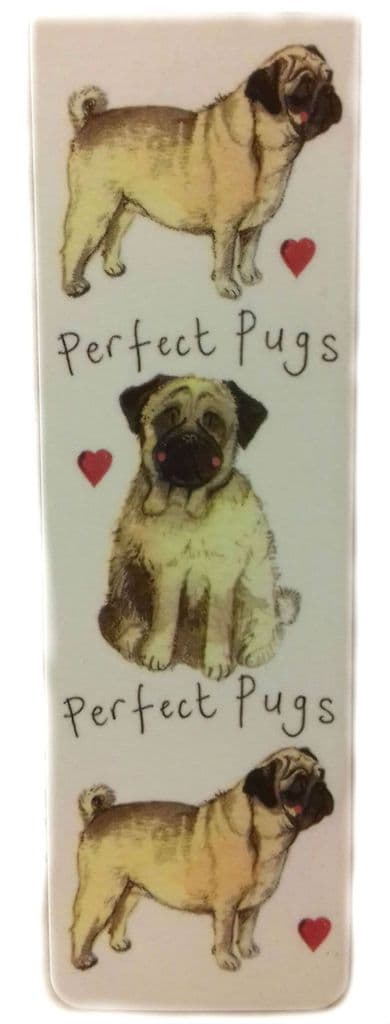 Perfect Pugs Magnetic Bookmark
