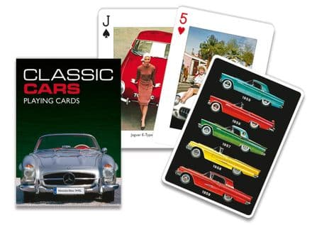 Piatnik Classic Cars Playing Cards