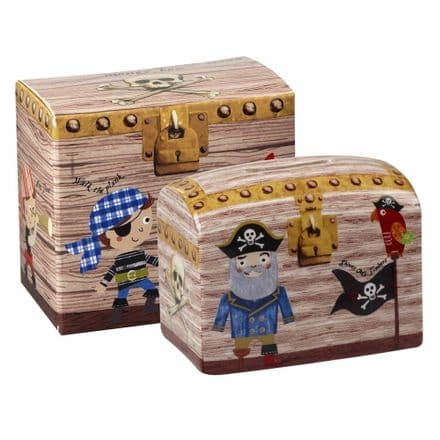 Pirates Treasure Chest Money Box