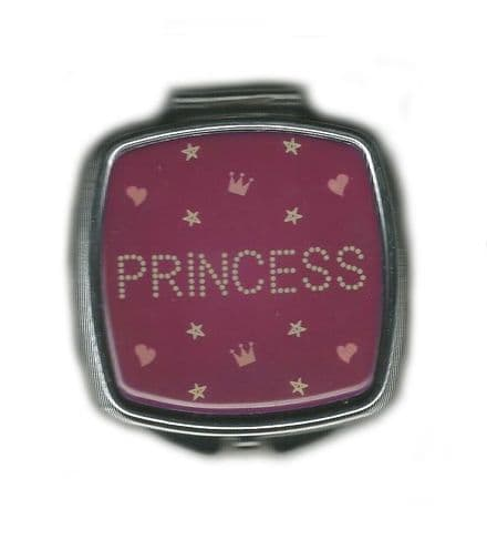 Princess Mirror Compact