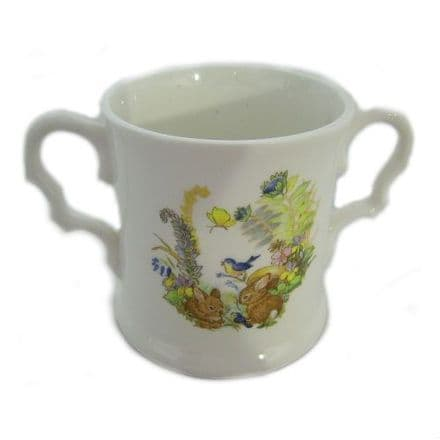 Rabbit Christening Mug, Fine Bone China