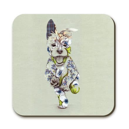 Rustic Cairn Coaster by Kat Baxter