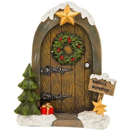 Santa's Workshop Fairy Door