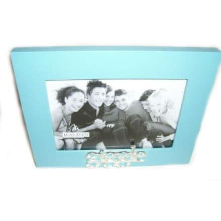 Say It Loud Giggle Photo Frame. 3.5 x 5 inches