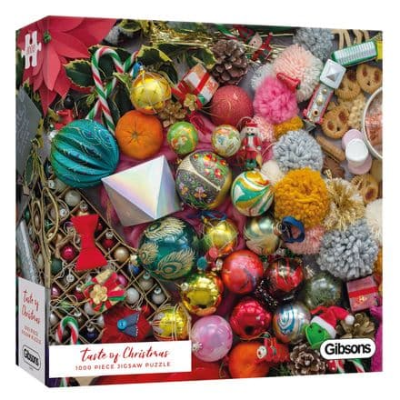 Taste of Christmas by Rachel Emma Studio 1000 Piece Gibsons Jigsaw