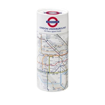 TFL London Underground Map 250 piece Gibsons Jigsaw Puzzle