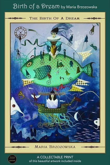 The Birth of A Dream by Maria Brzozowska, 500 piece Art & Fable Premium Quality Jigsaw Puzzle