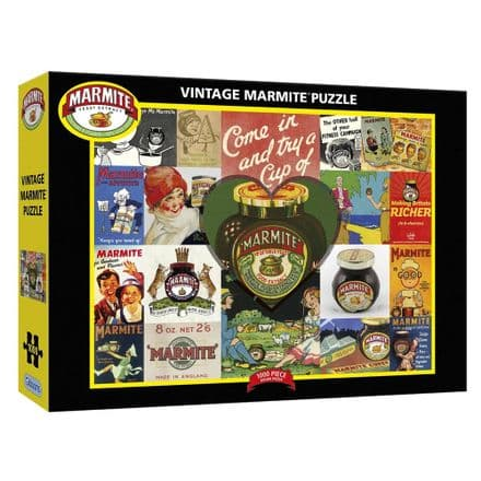 Vintage Marmite 1000 Piece Gibsons Jigsaw