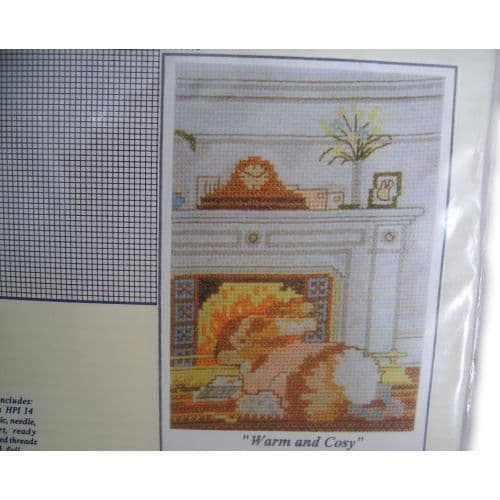 Warm and Cosy Counted Cross Stitch Kit,Masterplan