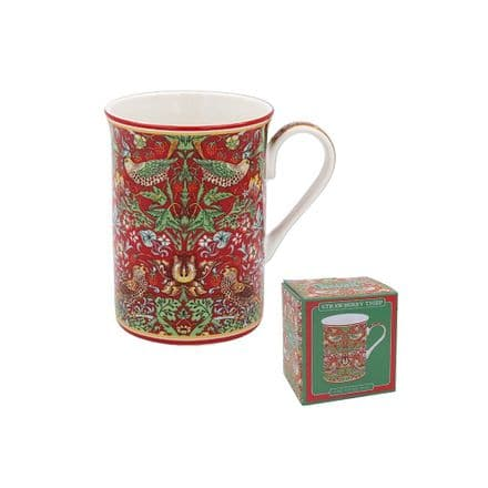 William Morris Strawberry Thief Fine China Mug