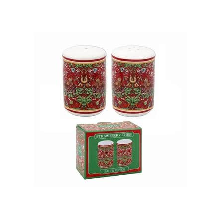 William Morris Strawberry Thief Fine China Salt & Pepper Pots