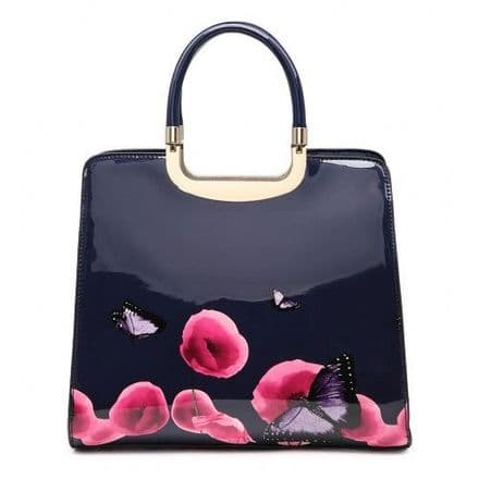 Butterfly Floral Ladies Handbag