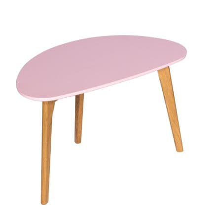 Contemporary Coffee Table in Pink