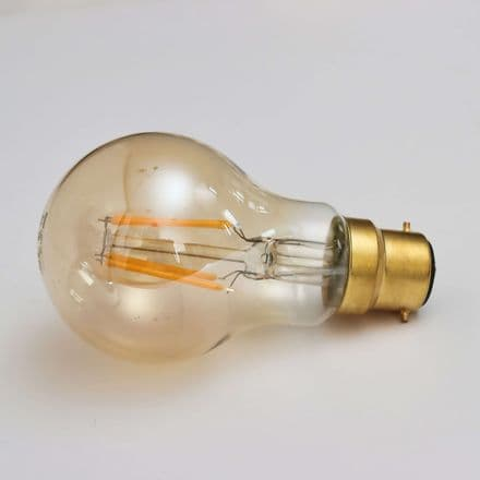 Crystalite Antique PS60 GLS BC Golden LED Filament 4w